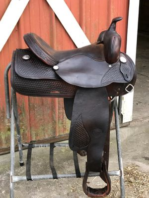 Western Horse Saddle (Tex Tan) for Sale in Lakeland, FL