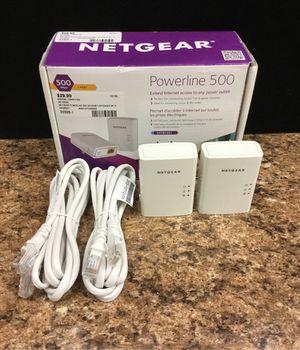 Netgear Powerline 500 Internet Extender for Sale in San Dimas, CA