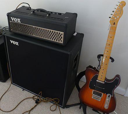 VOX Half stack guitar amp 100 watts