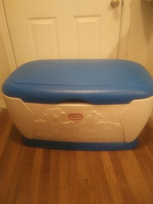 Large little tikes toy box for Sale in Spring Hill, FL