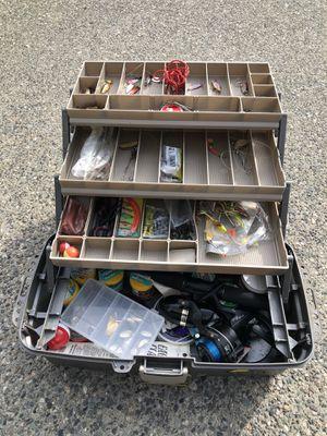 Fishing tackle box for Sale in Lynnwood, WA
