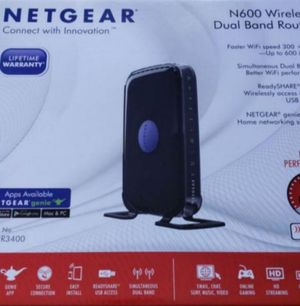 Netgear N600 router for Sale in CA, US