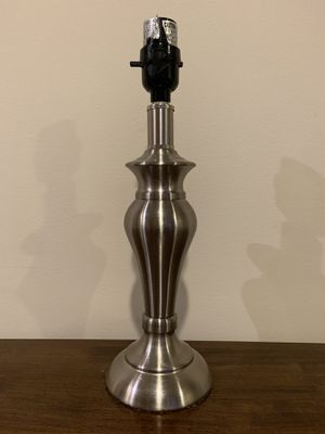Silver lamp base for Sale in Los Angeles, CA