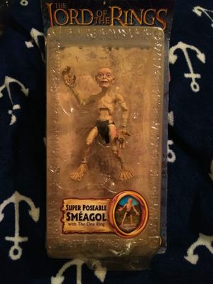 Lord Of The Rings; Super Poseable Smèagol w/ The One Ring for Sale in Ocala, FL