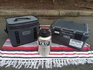 Yeti Package (Cooler, Cargobox, and Rambler) for Sale in Portland, OR