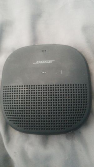 Bose Bluetooth Speaker Water Resistant/ Mountable! for Sale in Chelan, WA