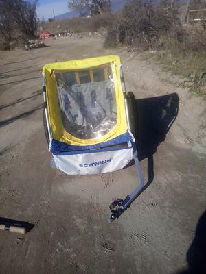 Schwinn 2 seater bike trailer trail rated for Sale in Rialto, CA