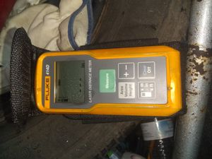 Nail gun/ fluke distance meter for Sale in Houston, TX