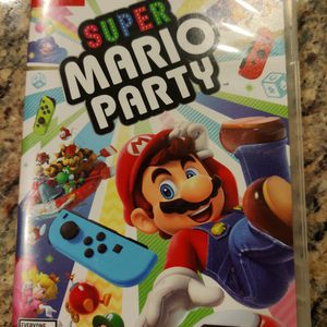Super Mario Party (nintendo Switch) for Sale in Norco, CA