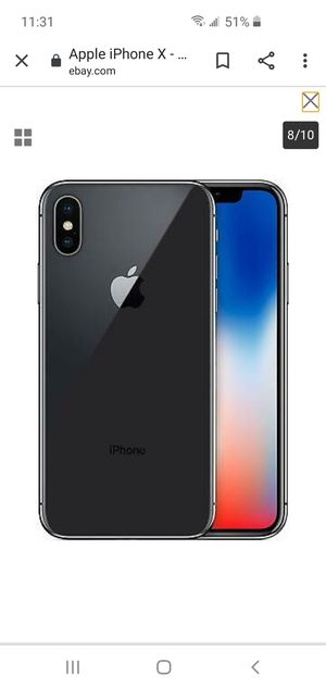 Apple iPhone X 64 GB for Sale in Redford Charter Township, MI