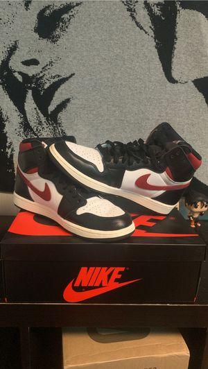Air Jordan 1 Retro High Black Gym Red for Sale in W COLLS, NJ