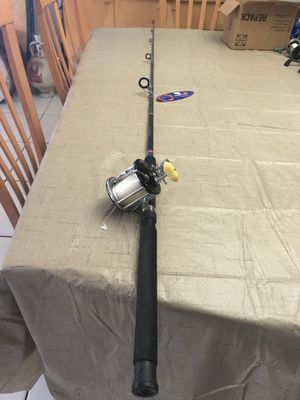 Penn Leveline No. 350 Reel Excellent Condition PLUS NEW Mako Hurricane 7' Rod READY TO FISH New Line No refunds no returns for Sale in Pembroke Pines, FL