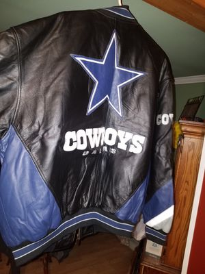 Dallas cowboys leather coat for Sale in Birmingham, IA
