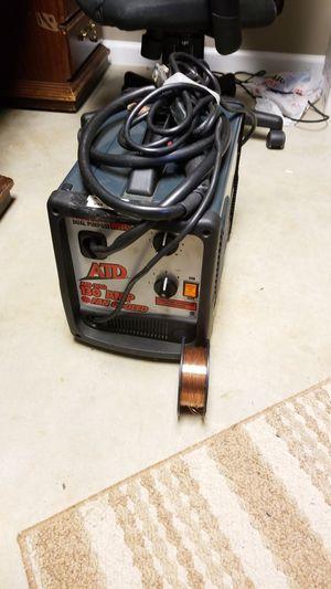 ATD-3130. 130 amp welder. Plugs into normal 120v socket. Acetylene hookup in rear. for Sale in Ohatchee, AL