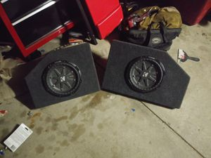 10in kicker sub for Sale in Morrison, CO