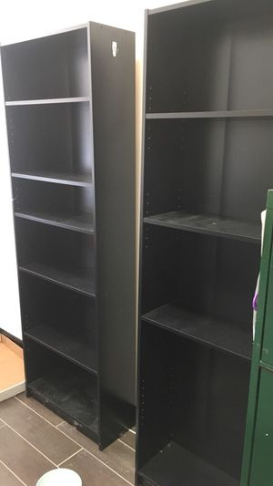 Black bookshelves for Sale in Woodbury, CT