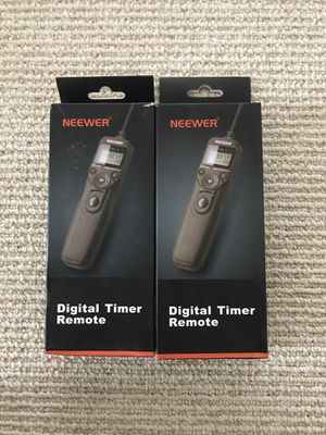 Digital timer remote for time lapse photography for Sale in Washington, DC