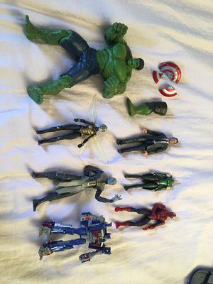 Marvel legends/transformers/baf pieces/custom captain America shield marvel legend for Sale in Las Vegas, NV
