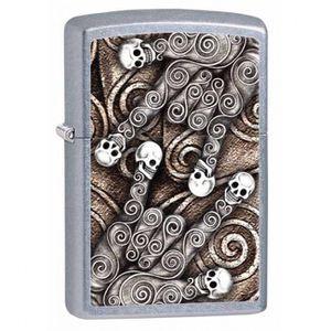 Zippo skull scroll lighter for Sale in Taylorsville, UT