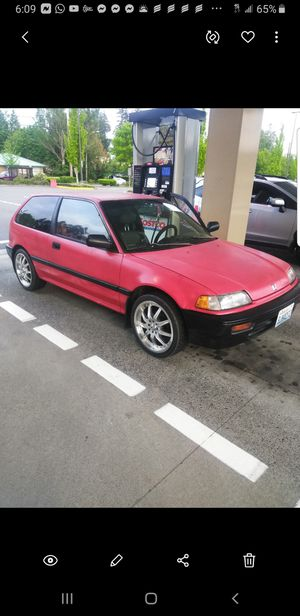 Honda civic hatchback 1989 for Sale in Seattle, WA