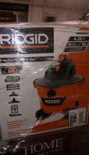 RIDGID 9gal wet dry vac for Sale in Richmond, CA