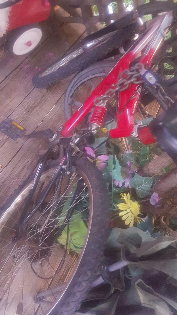 Next shocker bicycle