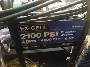 Pressure Washer 2100 psi 2gph 6hp hp Just service ex shape for Sale in Lake Zurich, IL