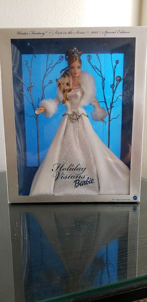 Winter Fantasy Barbie doll Limited Edition for Sale in Peoria, AZ