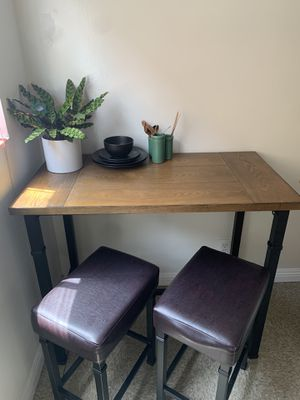 3-piece bar table set for Sale in Culver City, CA