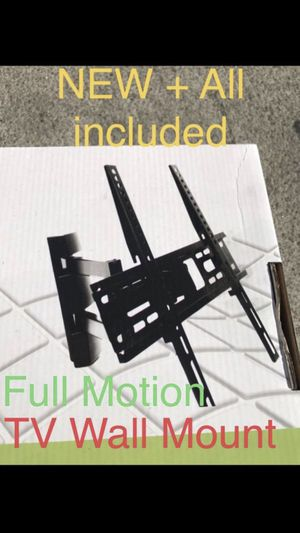 Full Motion Wall Mount Bracket (All included) for Sale in Chula Vista, CA
