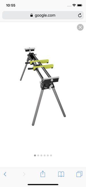 Ryobi Quickstand Universal Miter Saw Stand #11792-3 for Sale in Revere, MA
