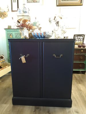 Navy Blue Cabinet for Sale in University Place, WA