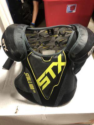 STX Boys Lacrosse pads size small. for Sale in Santa Clarita, CA