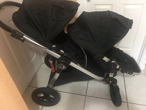 Baby jogger city select double stroller for Sale in West Palm Beach, FL