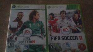 Xbox360 new Es sports soccer& soccer2 for Sale in Phoenix, AZ