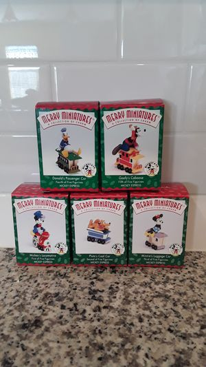 Disney Hallmark Mickey Mouse Express Miniature Figurines - New for Sale in Windermere, FL