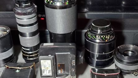 Cameras Lenses & extras for Sale in The Bronx,  NY