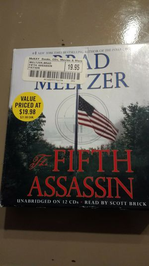 The Fifth Assassin audiobook unbridged on 12 CDs read by Scott Brick for Sale in KIMBERLIN HGT, TN