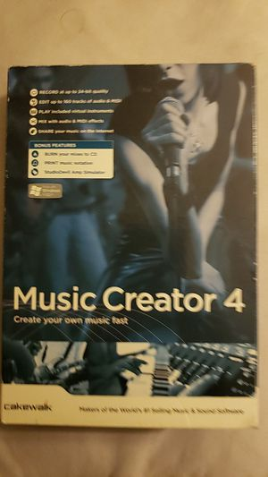 Music Creator 4 for Sale in Bakersfield, CA