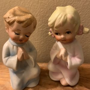 """Prayers Said By Brother&Sister! 4"""" (vintage) High No Chips No Cracks for Sale in Glendale, AZ"""