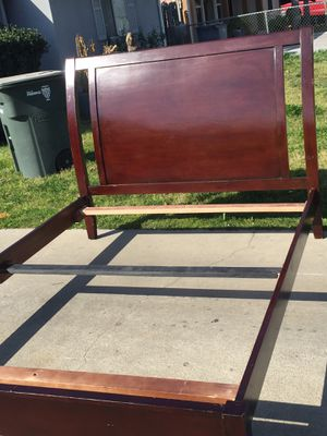 Queen bed frame in good condition. Just the frame. for Sale in Fresno, CA
