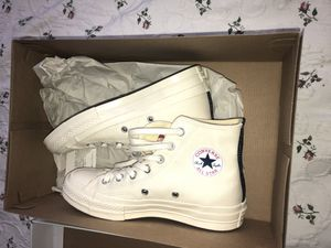 Converse comme des garçon women size 6 for Sale in Silver Spring, MD