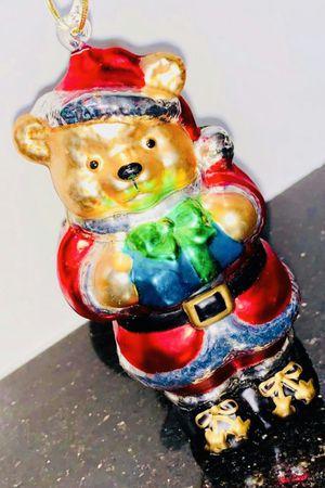 large glass Golden Bear christmas tree ornament for Sale in Chandler, AZ