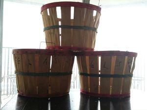 Peach baskets for Sale in Chicago, IL