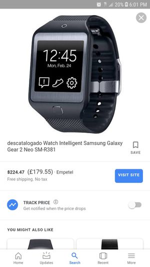 Samsung Galaxy Gear 2 for Sale in Inglewood, CA