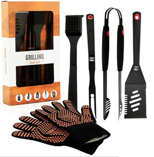 5pc heavy duty bbq grill tool set for Sale in Chicago, IL
