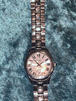 Seiko Women's Premier Silver Dial Stainless Steel Watch for Sale in McAllen,  TX