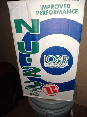 NU-22 Freon Refrigerant-$190 OBO for Sale in Mesa, AZ