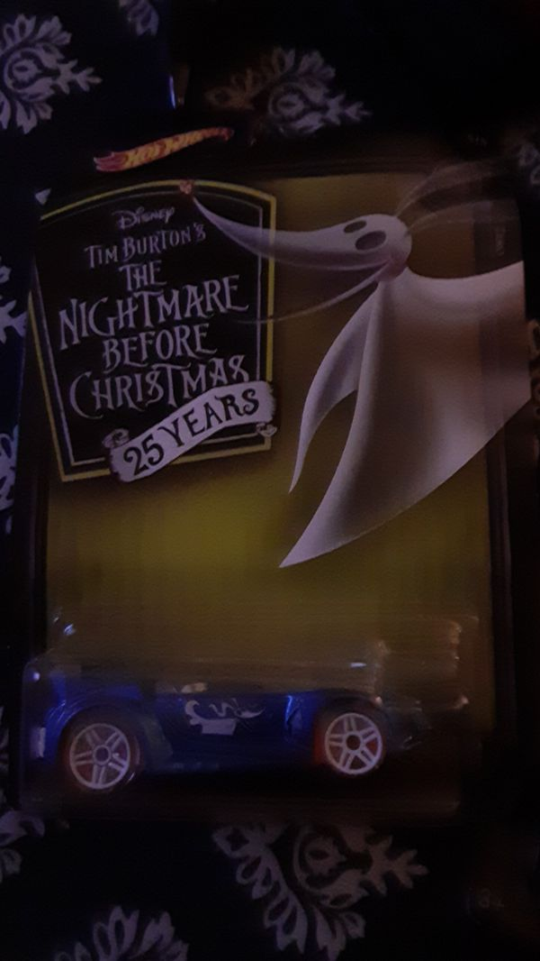 Nightmare before christmas limited edition hot wheels