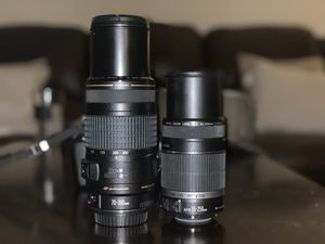 Canon EOS 600D /t3i + 2 extra lenses for Sale in Torrance, CA
